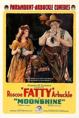 Moonshine (1918 film) - Film poster
