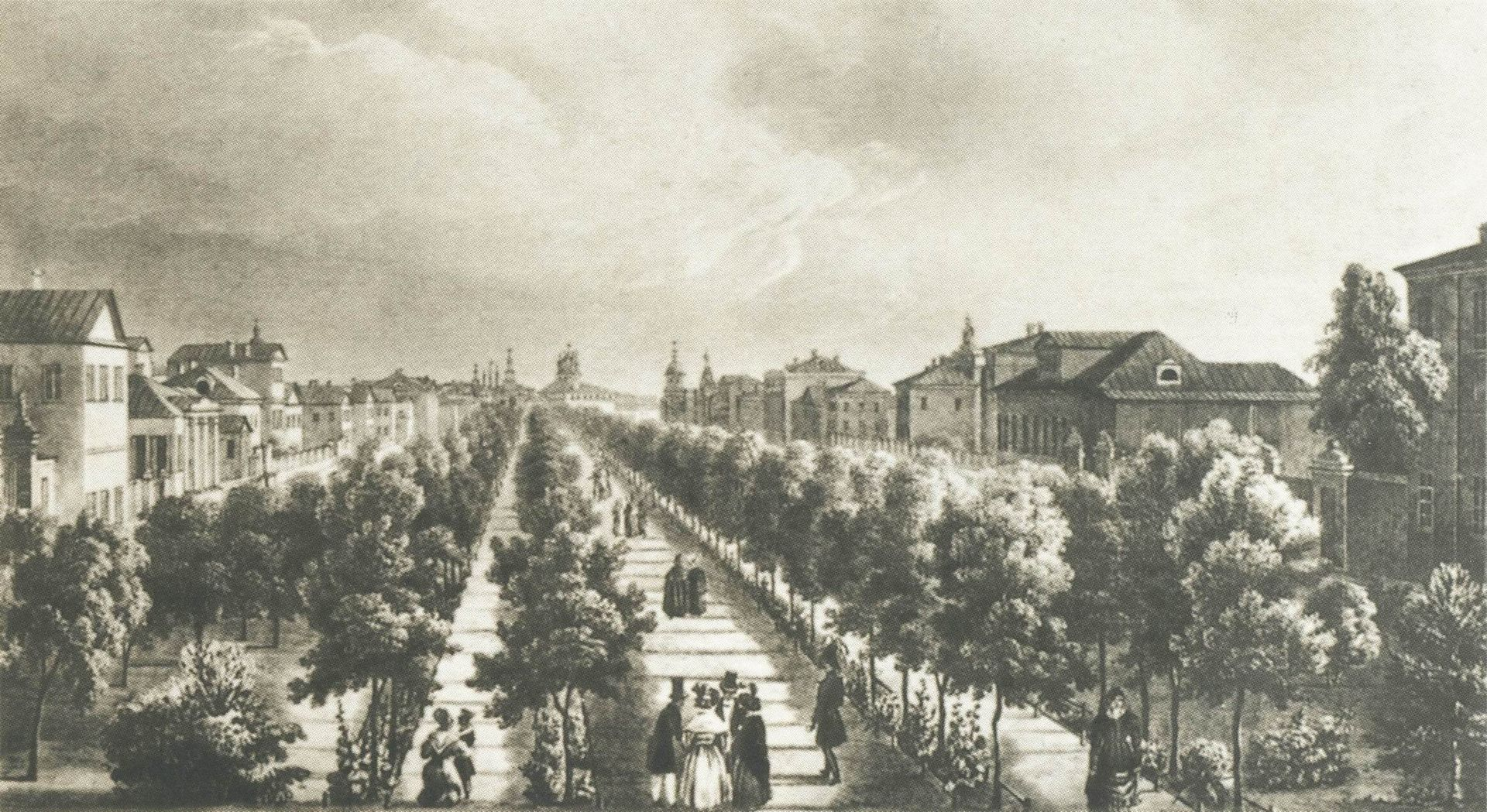Тверской бульвар 1825