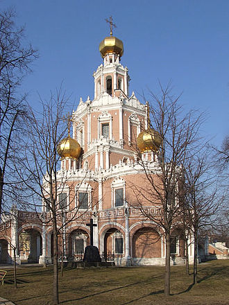Fili (Moscow) - Church of Intercession in Fili