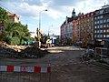 Moskevská, od severu k Vršovickému náměstí, rekonstrukce.jpg