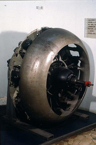Alfa Romeo 125 - Alfa Romeo 131, 9-cyl radial engine.