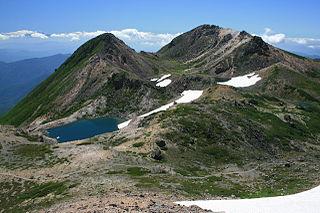 Mount Haku mountain in Ishikawa Prefecture, Japan