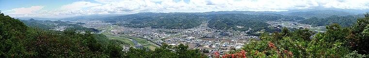 Mount Joyama 20100527 panorama.jpg
