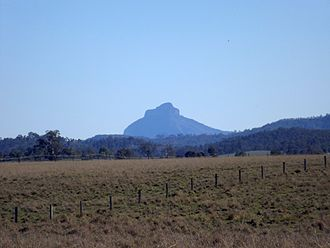 Mount Lindesay (Queensland) - View from Laravale, 2014