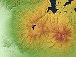 Mount Nekomagadake Relief Map, SRTM-1.jpg