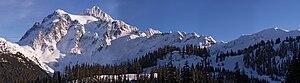 Mount Shuksan - Image: Mount Shuksan Winter Mercator 6310px