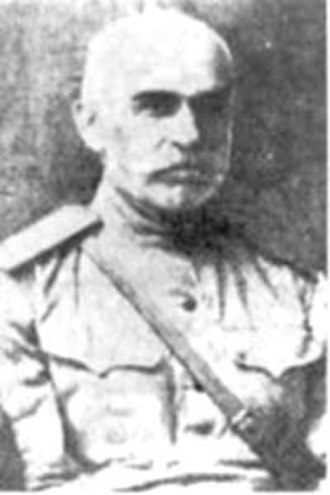 Battle of Sardarabad - General Movses Silikyan, commander of the Armenian forces.