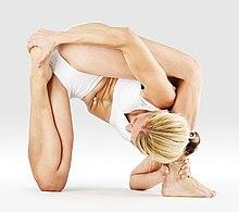 220px Mr yoga foot behind head lizard pose yoga asanas Liste des exercices et position à pratiquer