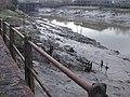 Mud, glorious mud, Riverside, Newport - geograph.org.uk - 1741433.jpg