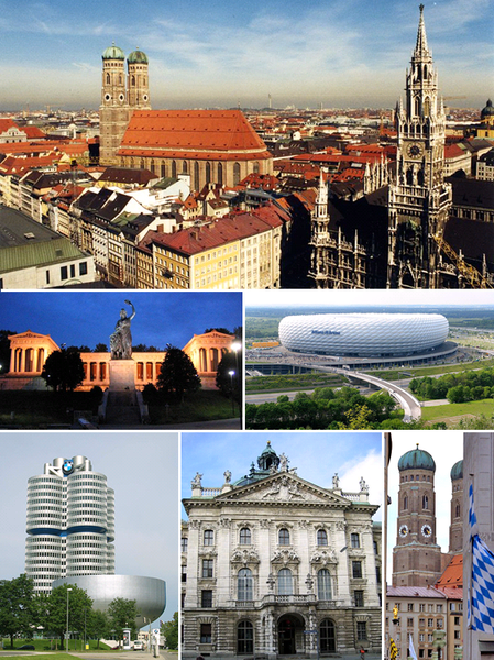 Munich - the capital of the federal state of Bavaria.
