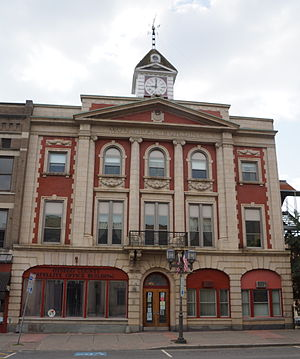 Municipal Building (Oneonta, New York) - Image: Municipal Building in Oneonta NY