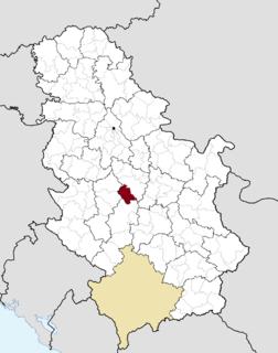 Knić Town and municipality in Šumadija and Western Serbia, Serbia