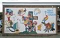 Mural at the side of Hart Plain Church - geograph.org.uk - 1308253.jpg