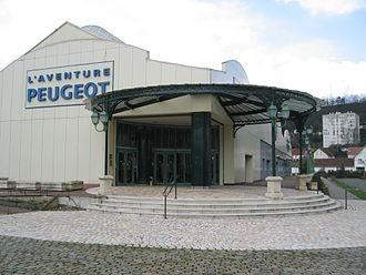 Musée de l'Aventure Peugeot - Image: Musée Peugeot Sochaux