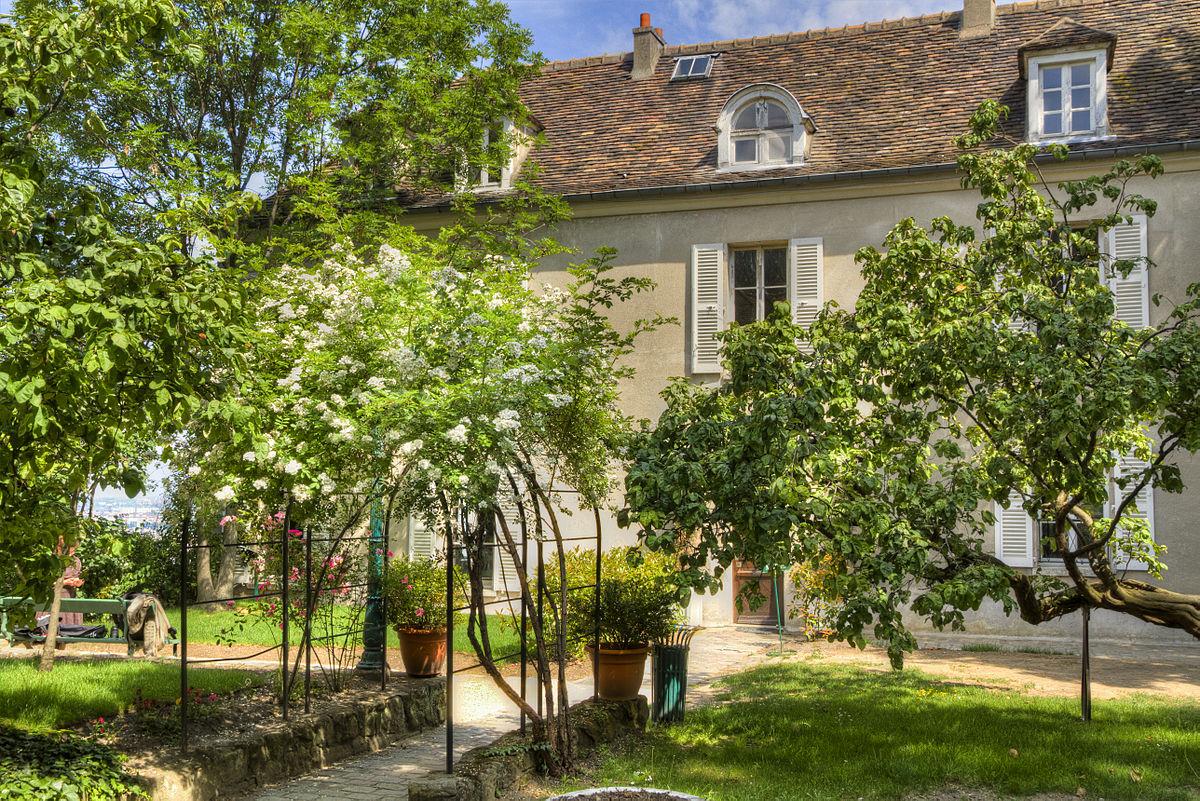 Mus e de montmartre wikipedia for Jardin 75018