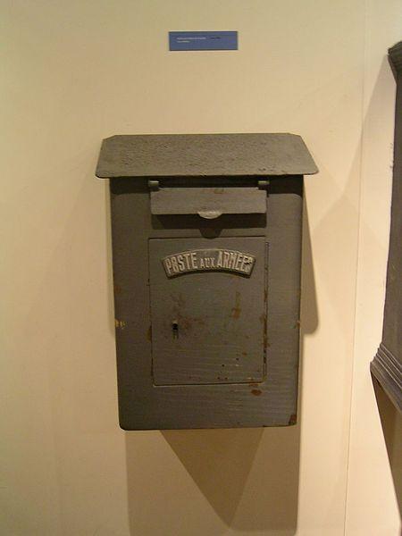 La Poste Boite Aux Lettres : fichier musee de la poste boites aux lettres des arm es ~ Nature-et-papiers.com Idées de Décoration