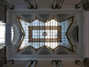 Museo Geominero - Ceiling of the museum