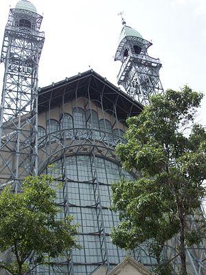 Museo Universitario del Chopo - The Chopo Museum towers and facade