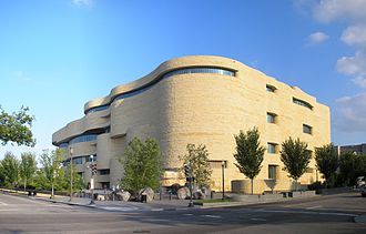 National Museum of the American Indian - National Museum of the American Indian seen from the north