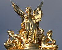 Allegory of Music, on top of the Garnier Opera...