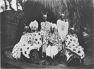 Yuhi V of Rwanda - Musinga (Yuhi) circa 1910