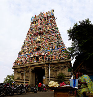 Kapaleeshwarar Temple - Facade of the temple