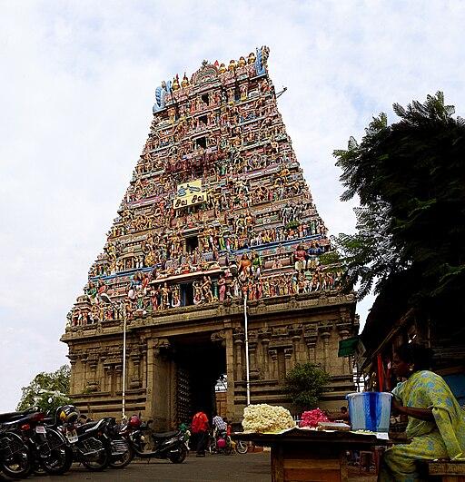 Mylapore Kapaleeshwarar temple facade