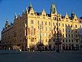 Náměstí Republiky, Obchodní a živnostenská komora a hotel Paříž.jpg