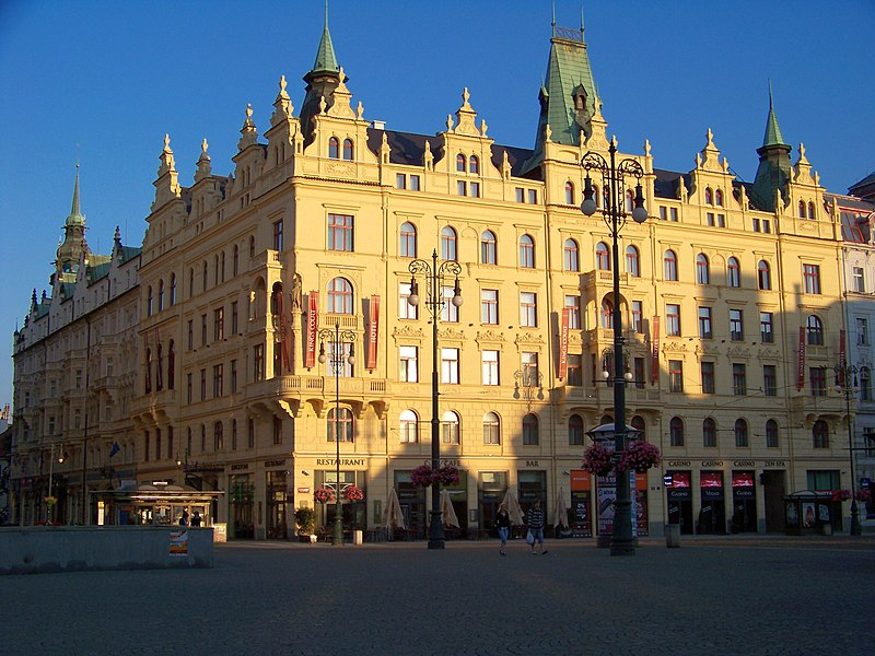 Hotel Kings Court Prag Parken