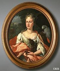 Eva Maria van Foreest (1706-1770). Echtgenote van Lucas van Neck Merens