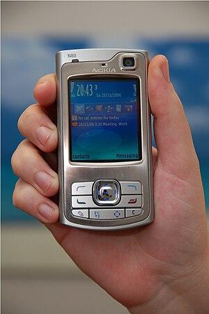 Nokia N80 - Image: N80