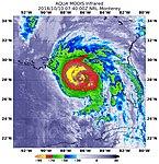 NASA's Infrared View Shows Power in Hurricane Michael (31352547888).jpg