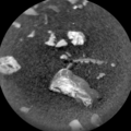 """Little Colonsay"" possible meteorite – viewed by Curiosity (November 26, 2018)."