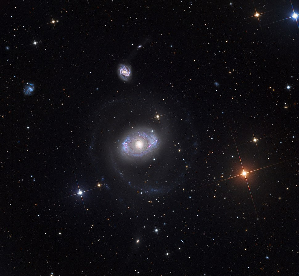 NGC4151 Galaxy from the Mount Lemmon SkyCenter Schulman Telescope courtesy Adam Block