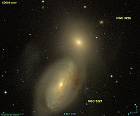 Image illustrative de l'article NGC 3227
