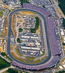 New Hampshire Motor Speedway aerial photo