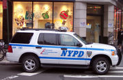 NYPD Ford Explorer SUV