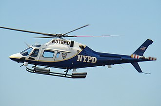 AgustaWestland AW119 Koala - An AW119 with the New York City Police Department