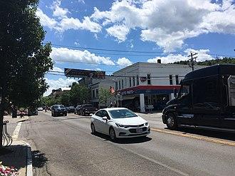 Watkins Glen, New York - Franklin Street in Watkins Glen