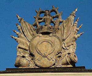 Nałęcz coat of arms - Image: Nałęcz Kaziemierza Raczyńskiego