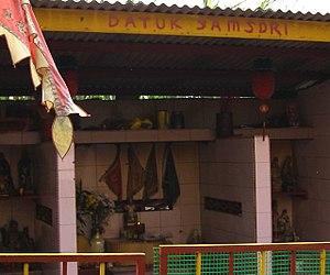 Na Tuk Kong - Photo of Malay-Chinese deity Datuk Samsuri, the shrine is at Cheras of Kuala Lumpur.