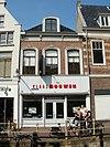 foto van Pand met verdieping en rechte kroonlijst