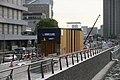 Nakanoshima Station construction 2008.JPG