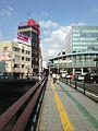 Nakasu-Shimbashi Bridge and footbridge of Canal City Hakata.jpg