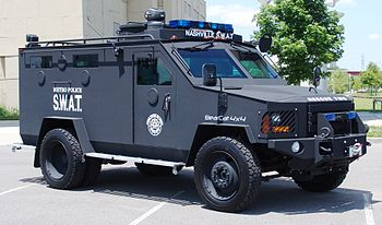 Police Lenco Bearcat CBRNE Armored Rescue Vehi...