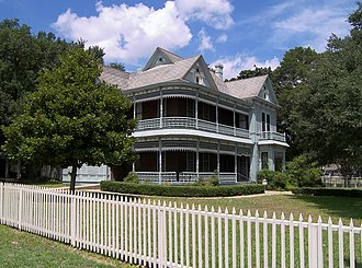National Register of Historic Places listings in Milam County, Texas - Image: Nathan cass house