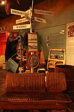 Marabastad exhibition in the National Cultural History museum in Boom street, Pretoria
