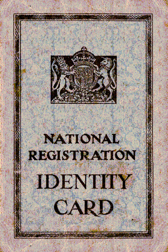 National Registration Act 1939 - Adult Identity Card - 1943