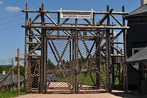 Natzweiler-Struthof - Camp entrance