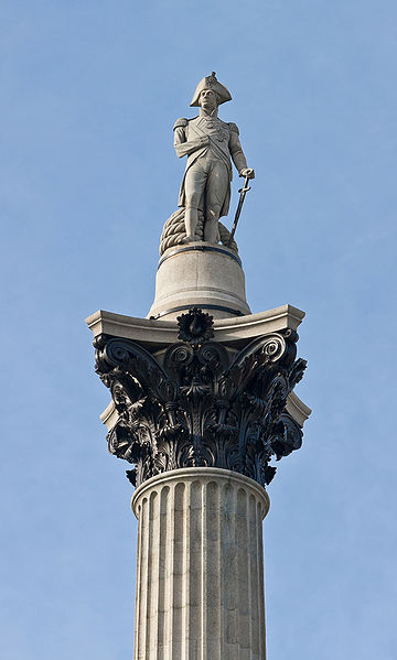 File:Nelson's Column, Trafalgar Sq, London - Sep 2006.jpg